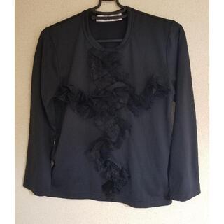 コムデギャルソン(COMME des GARCONS)のCOMME des GARCONS コムコム フリルカットソー 美品(Tシャツ(長袖/七分))