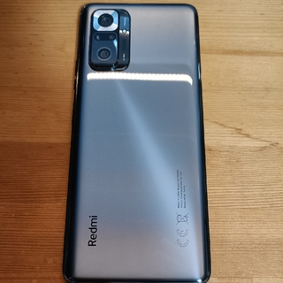 ANDROID - redmi note 10 pro オニキスグレー