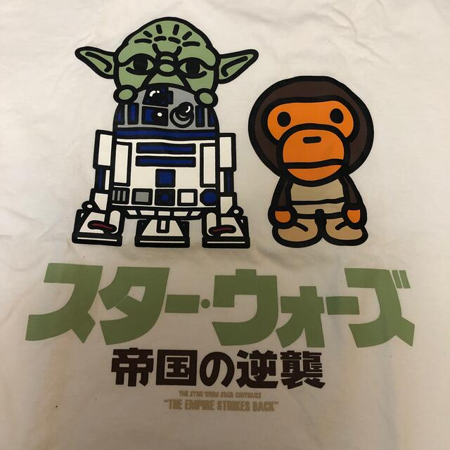 A BATHING APE(アベイシングエイプ)のアベイシングエイプ スターウォーズ ヨーダ tシャツ  メンズのトップス(Tシャツ/カットソー(半袖/袖なし))の商品写真