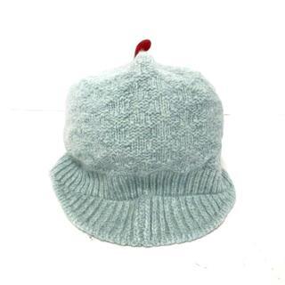 ザノースフェイス(THE NORTH FACE)のノースフェイス ニット帽 - ライトグリーン(ニット帽/ビーニー)