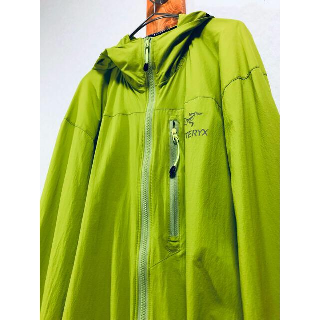 ARC'TERYX(アークテリクス)のアークテリクス スコーミッシュ フーディー Mサイズ パーカー アウトドア メンズのジャケット/アウター(マウンテンパーカー)の商品写真