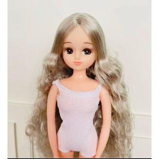 タカラトミー(Takara Tomy)のリカちゃんキャッスル シルバーヘアー 美品(人形)