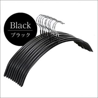 滑らないハンガー 30本セット ブラック(押し入れ収納/ハンガー)