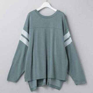 ビューティアンドユースユナイテッドアローズ(BEAUTY&YOUTH UNITED ARROWS)の6(ROKU)FOOTBALL LONG SLEEVE Tシャツ(Tシャツ(長袖/七分))