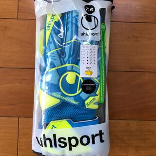 ウールシュポルト(uhlsport)の【新品未使用】ウールシュポルト ソフト キーパーグローブ サイズ7.5  (その他)