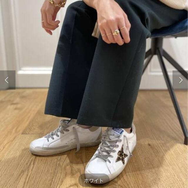 L'Appartement DEUXIEME CLASSE(アパルトモンドゥーズィエムクラス)の【GOLDEN GOOSE/ゴールデングース】 レオパードスター スーパースター レディースの靴/シューズ(スニーカー)の商品写真