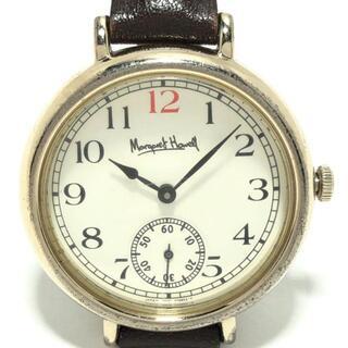 マーガレットハウエル(MARGARET HOWELL)のマーガレットハウエル 腕時計 - レディース(腕時計)