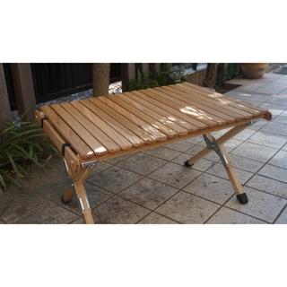 【連絡用】ウォールナット ロールトップサイドテーブル 蜜蝋仕上げ