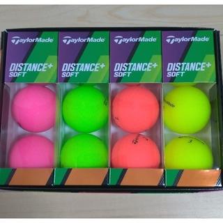 TaylorMade - 【新品】テーラーメイド ディスタンス+ ソフト マットカラー 1ダース 12球