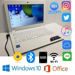 ⑦美品 高速SSD120GB搭載Zoomすぐ使えるWin10 高性能11.6型
