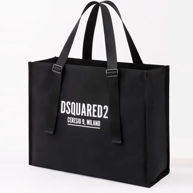 DSQUARED2(ディースクエアード)のDSQUARED2 ディースクエアードBIG スクエア トートバッグ レディースのバッグ(トートバッグ)の商品写真