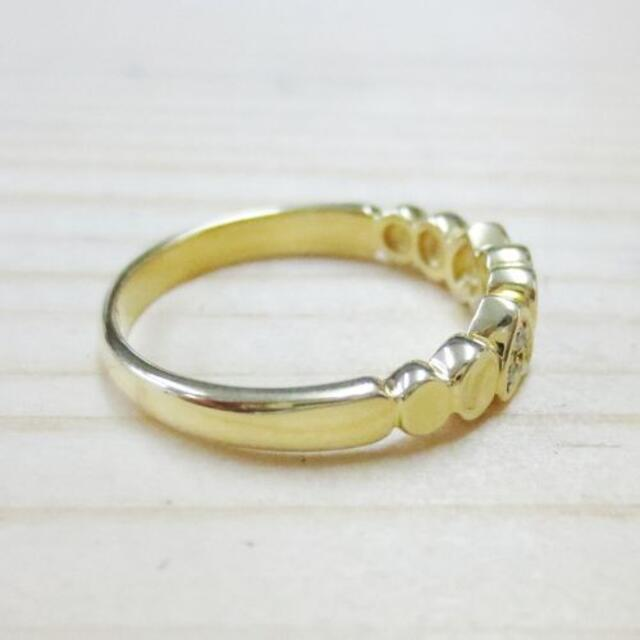 Christian Dior(クリスチャンディオール)のクリスチャンディオール 750 ダイヤハートリング レディースのアクセサリー(リング(指輪))の商品写真
