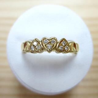 Christian Dior - クリスチャンディオール 750 ダイヤハートリング