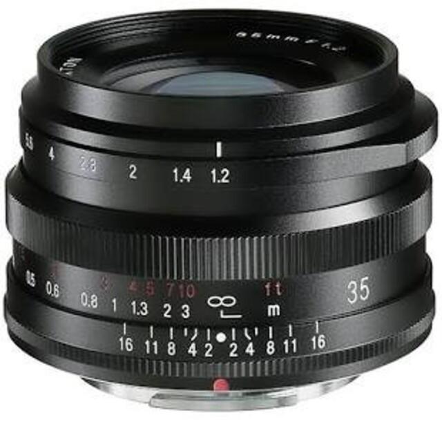 Voigtlander nokton 35mm F1.2  xマウント fuji スマホ/家電/カメラのカメラ(レンズ(単焦点))の商品写真
