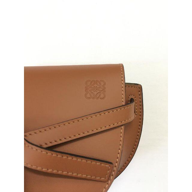 LOEWE(ロエベ)の新品 LOEWE ゲート バッグ ミニ ソフトカーフ ジャガード レザー レディースのバッグ(ショルダーバッグ)の商品写真
