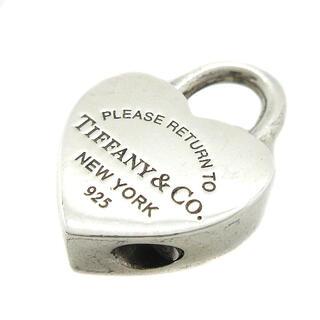 ティファニー(Tiffany & Co.)のティファニー リターントゥハートロック チャーム 925 シルバー(チャーム)