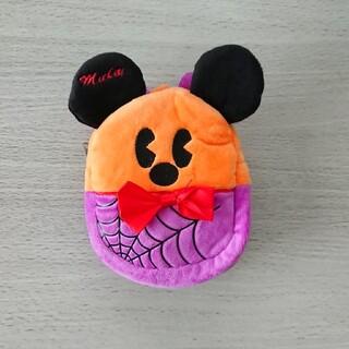 ミッキーマウス(ミッキーマウス)の《非売品》 ミッキー リュック型ポーチ(キャラクターグッズ)
