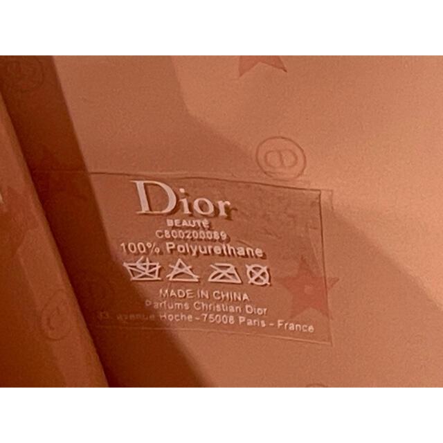 Dior(ディオール)のDior ディオール ノベルティ ポーチ ベビーピンク 新品未使用品 パステル レディースのファッション小物(ポーチ)の商品写真