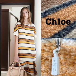 クロエ(Chloe)の15Resort■Chloe/クロエ_半袖シルクニットシャツ/セーターモヘア混み(ニット/セーター)