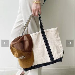 L'Appartement DEUXIEME CLASSE - アパルトモン【L.L.Bean 】Canvas Midium Tote Bag