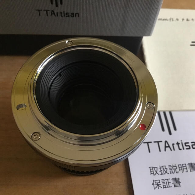 TT Artisan 35mm f1.4C X(富士フイルムXマウント) スマホ/家電/カメラのカメラ(レンズ(単焦点))の商品写真