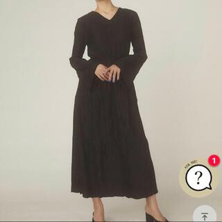 Ameri VINTAGE - RANDEBOO natural dress ブラック 新品未使用