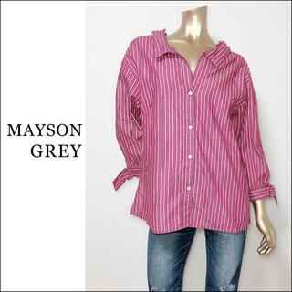 MAYSON GREY - MAISON GREY ストライプ スキッパー シャツ*ミラーオーウェン ザラ