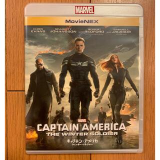 マーベル(MARVEL)のキャプテン・アメリカ/ウィンター・ソルジャーBlu-rayと純正ケースのみ(外国映画)