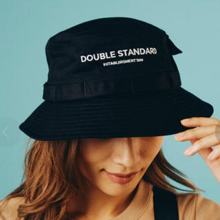 DOUBLE STANDARD CLOTHING - 美品  DOUBLE STANDARD CLOTHING コットンバケットハット