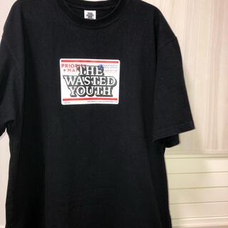 ジーディーシー(GDC)の【最安値】Wasted Youth Black Eye Patch黒TシャツXL(Tシャツ/カットソー(半袖/袖なし))