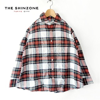 SHIPS - 美品 Sninzone✨シンゾーン ロイヤルタータンチェック ネルシャツ