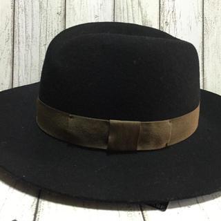 ケービーエフ(KBF)の《新品》 未使用 KBFつば広 帽子(ハット)