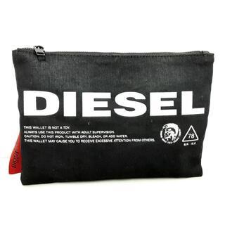 ディーゼル(DIESEL)のディーゼル ウエストポーチ - 黒×白(ボディバッグ/ウエストポーチ)