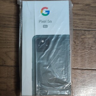 Google Pixel - 【新品未使用】Google Pixel 5a5G(SIMフリー)