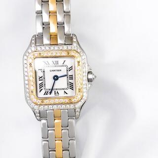 Cartier - 【仕上済】カルティエ パンテール SM 1ロウ ダイヤ レディース 腕時計
