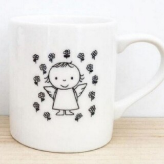 こども陶器博物館 天使ちゃん マグカップ ミッフィー
