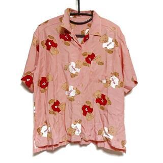 ピンクハウス(PINK HOUSE)のピンクハウス 半袖シャツブラウス - クマ(シャツ/ブラウス(半袖/袖なし))