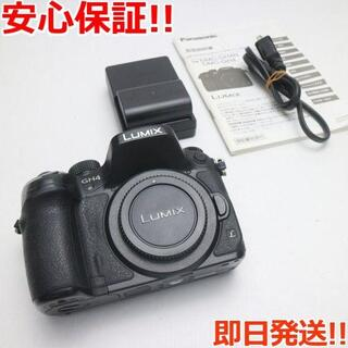 パナソニック(Panasonic)の超美品 DMC-GH4 ボディ ブラック (ミラーレス一眼)