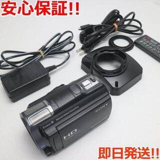 ソニー(SONY)の超美品 HDR-CX720V ブラック (ビデオカメラ)