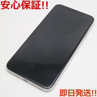 アイフォーン(iPhone)の新品同様 SIMフリーiPhone 11ProMax512GBシルバー (スマートフォン本体)