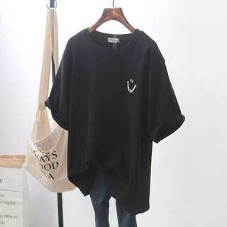 レディース 半袖 Tシャツ インナー ニコちゃん オーバーサイズ 韓国