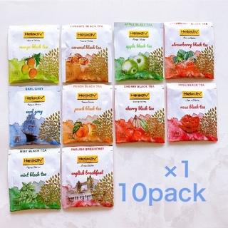 Heladiv 10P 紅茶 フレーバー アソート ティーバッグ アイスティー(茶)