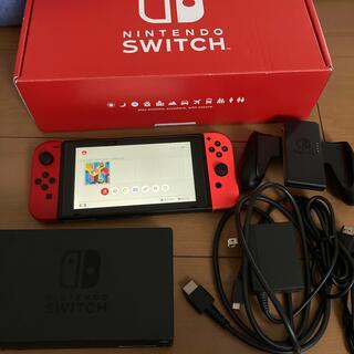 ニンテンドースイッチ(Nintendo Switch)のNintendo Switch JOY-CON(L)(R)本体セット中古 動作品(家庭用ゲーム機本体)