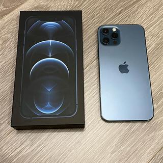 Apple - 【美品】iPhone 12 Pro パシフィックブルー128 GB SIMフリー