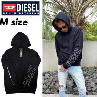 ディーゼル(DIESEL)のディーゼル パーカー スウェット 00CEMD袖ロゴ トップス M Diesel(パーカー)