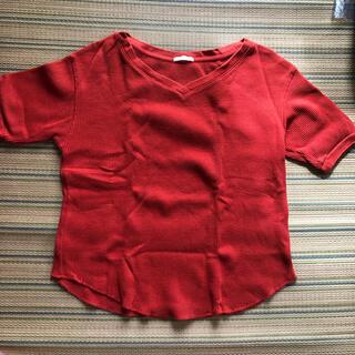 GU - GU ワッフル Tシャツ
