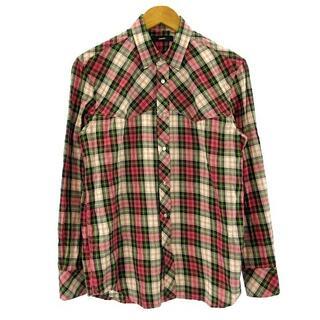 ディーゼル(DIESEL)のディーゼル 美品 近年モデル シャツ 長袖 チェック スナップボタン XS(シャツ)