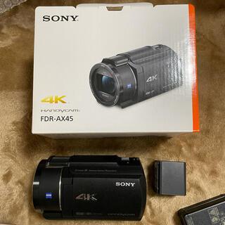 SONY - SONY FDR-AX45 ハンディカメラ