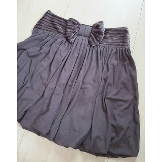 ロジータ(ROJITA)のRosita ロジータ ブラウン リボン スカート(ひざ丈スカート)