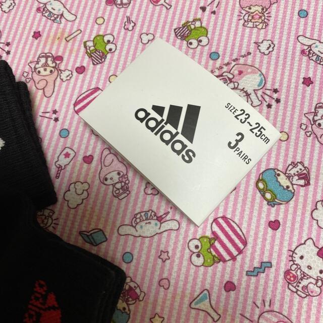 adidas(アディダス)のアディダスレディースソックス レディースのレッグウェア(ソックス)の商品写真